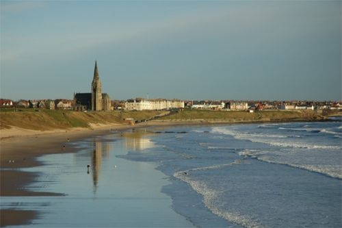 A view of Cullercoats in Tyne & Wear.