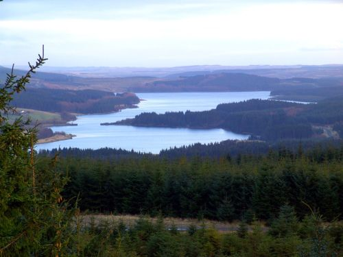 A picture of Kielder Water