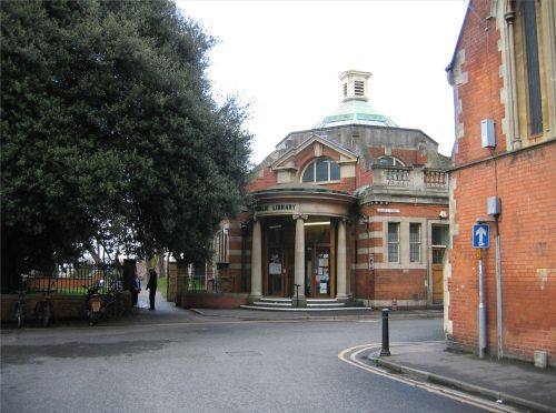 The Public Library, Bridgwater, Somerset.