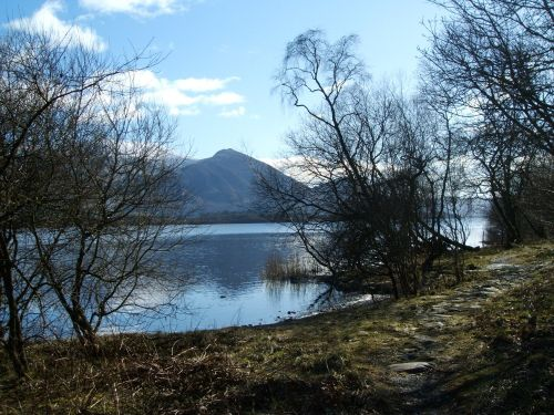 Bassenthwaite Lake, The Lake District, Cumbria.