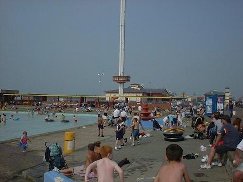 Outdoor Pool Rhyl Fronts By Brian Gorley Of Cumbria At