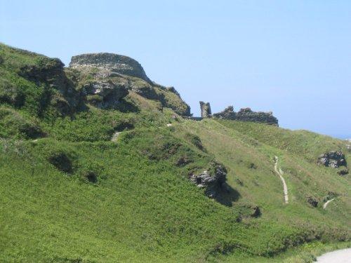 Ruins at Tintagel, Cornwall - June, 2003