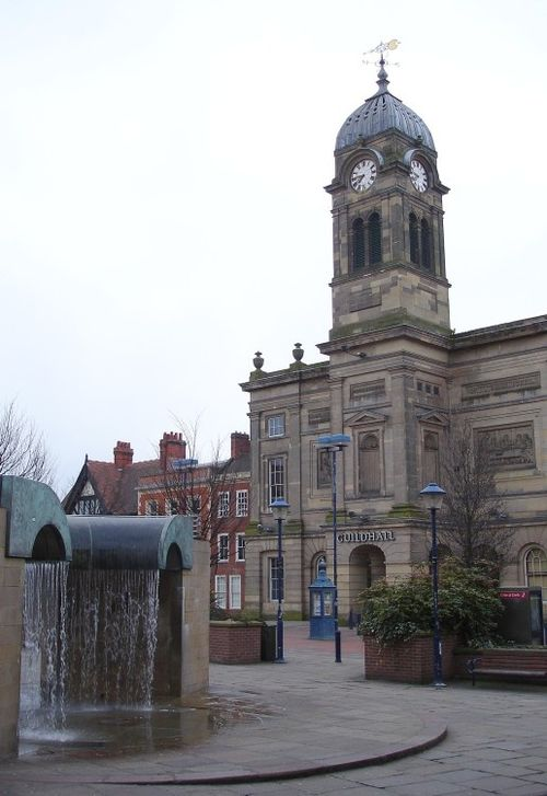 The Guildhall, Market Place, Derby