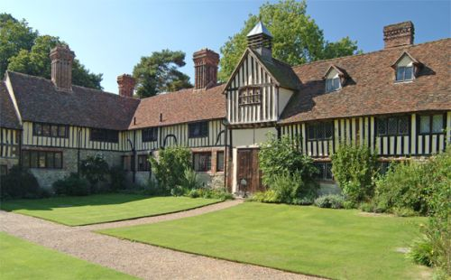 A picture of Ightham Mote