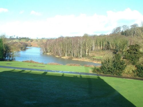 image of staunton harold reservoir taken from hall roof, 2003