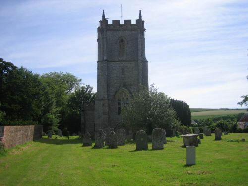 Sydling church in Sydling St Nicholas, Dorset