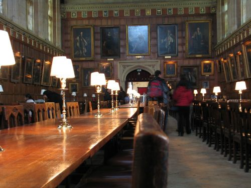 The Hall, Christ Church College, Oxford