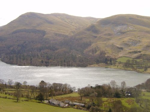 Loweswater with Carling Knott fell and Burnbank Fell, CUMBRIA