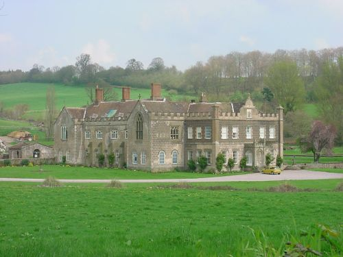 Flaxley Abbey, Flaxley, Gloucestershire. - Once a Cistercian Abbey now a private dwelling