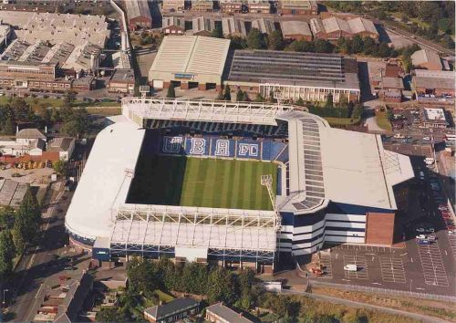The Hawthorns Stadium Of The West Bromwich Albion Football