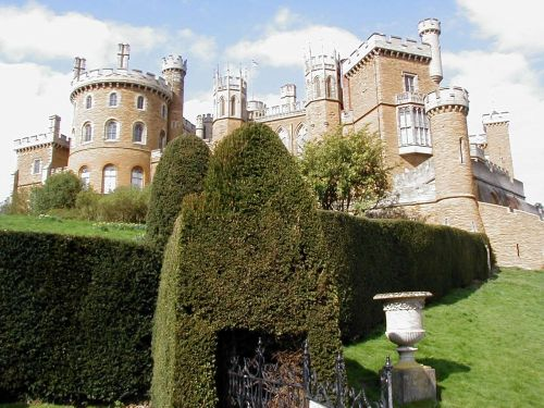 Belvoir Castle in Leicestershire, England