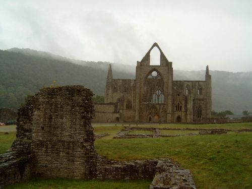 The ruines of Tintern Abbey - South Wales. Picture taken July 2003