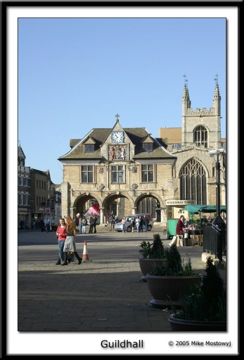 The Guildhall. Peterborough, Cambridgeshire.