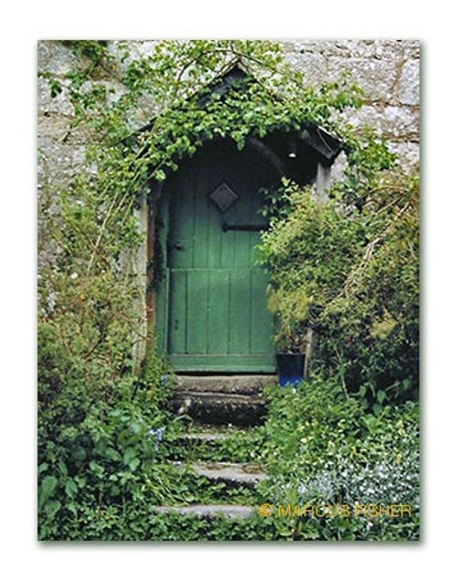 The Green Door, Throwleigh, Dartmoor, County Devon, England