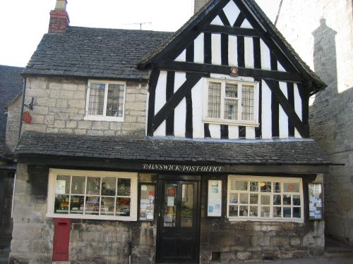 Painswick Post Office, Painswick, Gloucestershire.