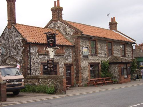 The fishing boat public house, East Runton, Norfolk