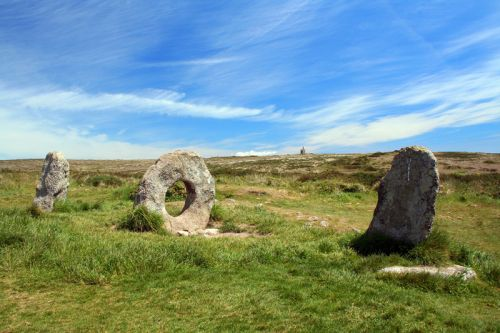 Men an Tol, ancient monument in Cornwall