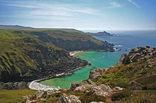 Zennor Head in Cornwall