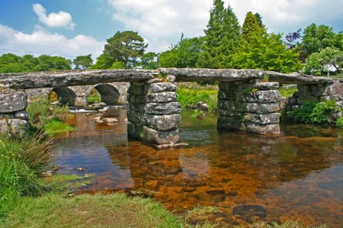 Postbridge, Dartmoor in Devon
