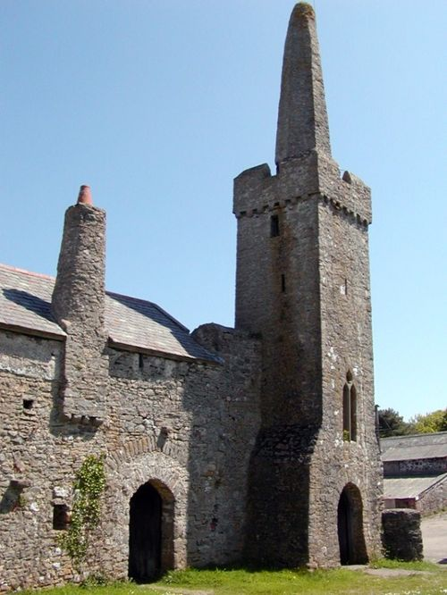 Caldey Island Old Priory in South Wales