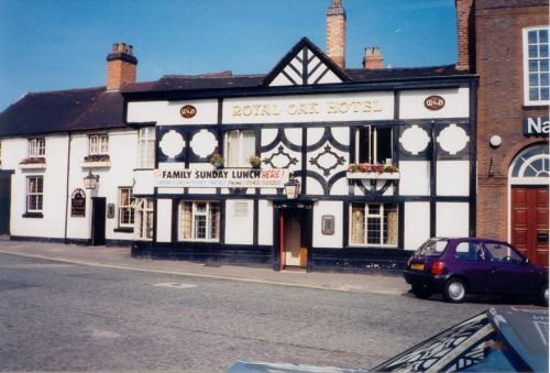 Royal Oak Hotel, Cannock Town Centre.