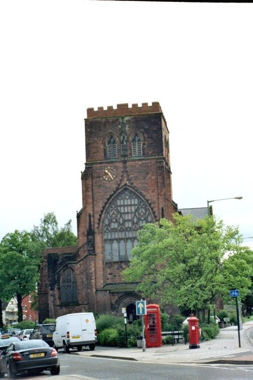 Shrewsbury Abbey. Shrewsbury, Shropshire