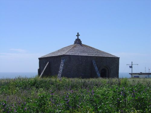 A picture of St. Aldhelm's Head & Chapel