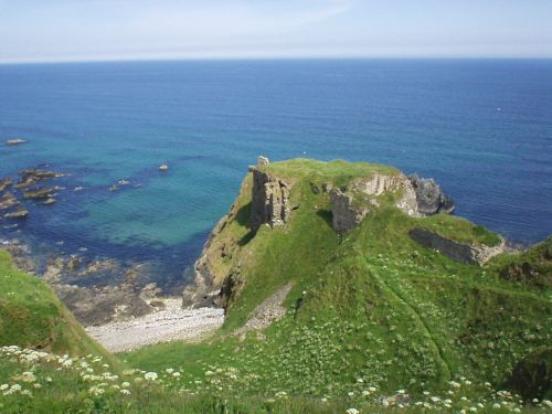 A picture of Findlater Castle