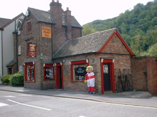 Teddy bear shop, Ironbridge, Shropshire