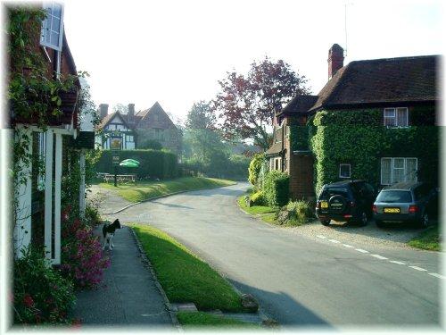 Wheatsheaf Inn in Chapel Square, East Hendred, Oxfordshire