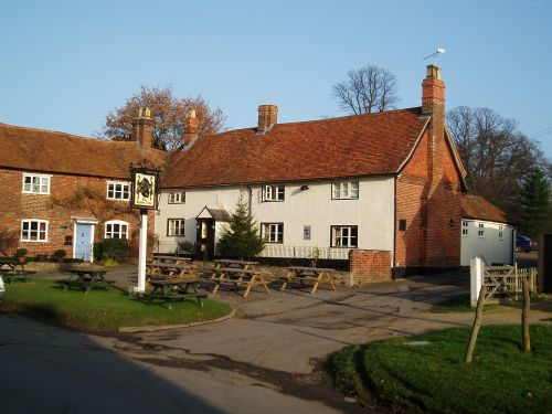The Eyston Arms in East Hendred. The only Inn in the country bearing this name.