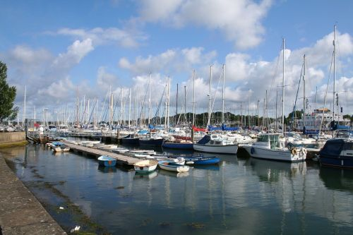 Lymington river, Lymington, Hampshire