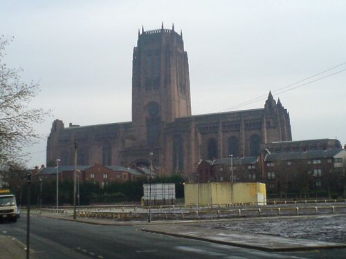 The Cathedral of Liverpool. Dec. 2005