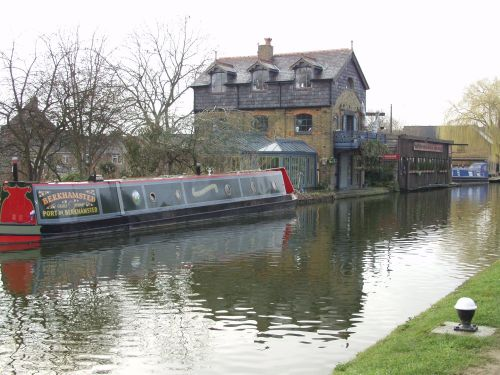 On the Canal at Berkhamsted, Herts