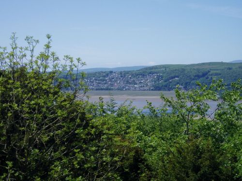 Grange-over-Sands from Arnside Knott