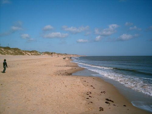 Hemsby beach, Norfolk