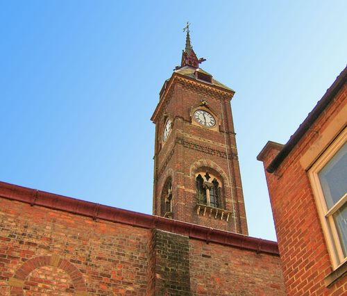Church Clock tower in Louth, Lincolnshire
