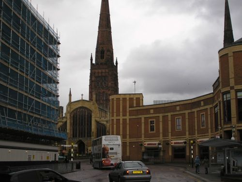 """Coventry City Centre"" By A A Thi At PicturesofEngland.com"