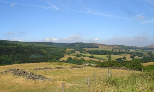 The stunning Goyt Valley near Buxton, Derbyshire