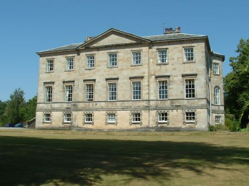 Constable Burton Hall in the heart of the Yorkshire Dales taken July 2006