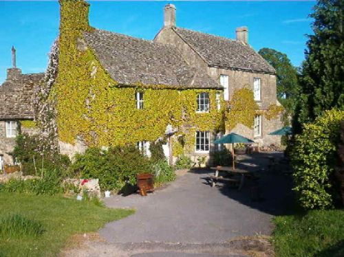 The Five Mile Inn, Duntisbourne Abbots, Gloucestershire. Wonderful food, service and atmosphere.