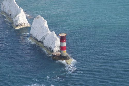 Aerial Photograph of the Needles, Isle of Wight