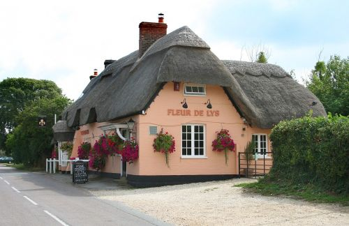 Fleur De Lys pub, Pilley, Hampshire