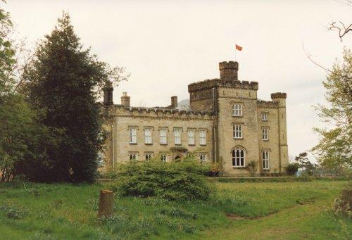 Chiddingstone Castle in Kent. taken in 1987