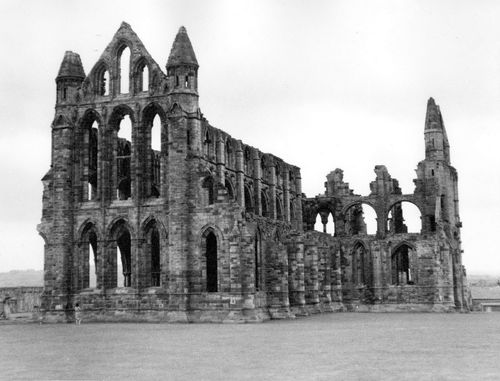 Whitby Abbey taken in 1963