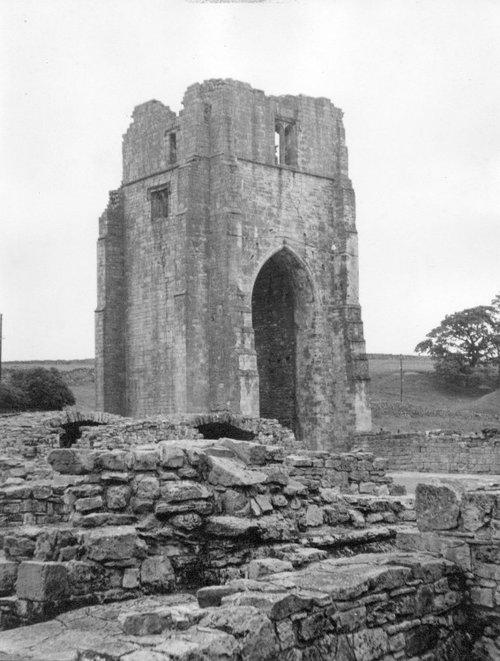 Shap Abbey, near the village of Shap in Cumbria, taken in 1963