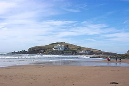 A picture of Burgh Island