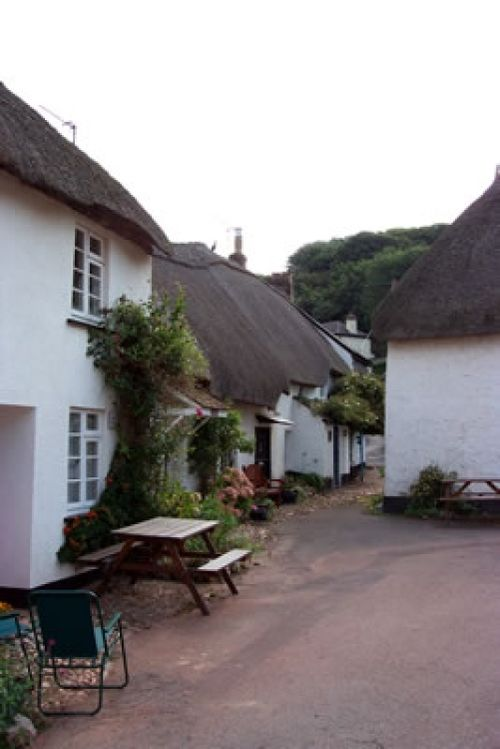 Hope Cottages, Hope Cove, Devon - little village close to beach