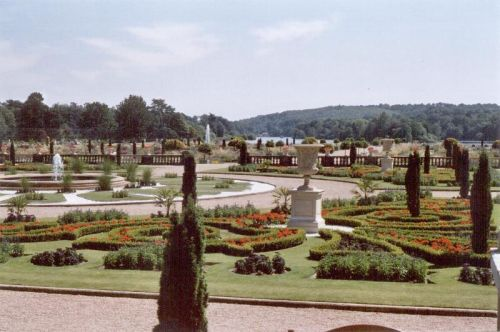 Trentham Gardens, Summer 2006.  Following the extensive restoration of the Italian Gardens