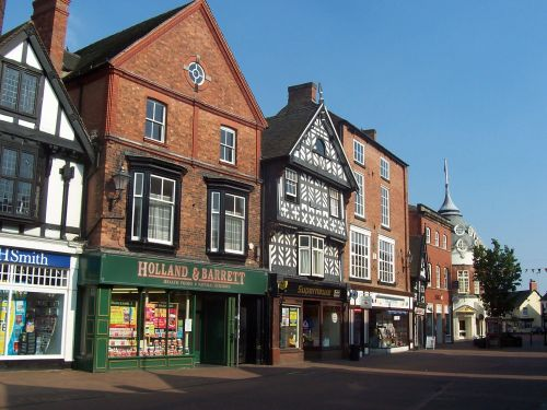 Old Shops, The Square, Nantwich